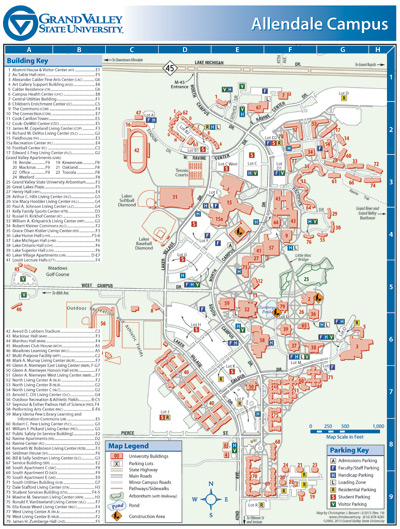 Christopher J. Bessert: Portfolio: University Campus Maps